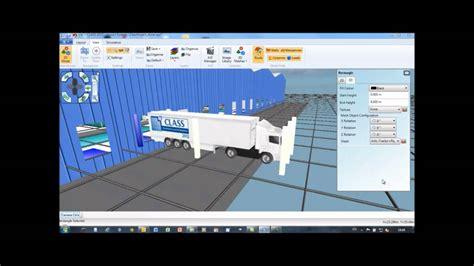 class warehouse layout and simulation class warehouse simulation software youtube