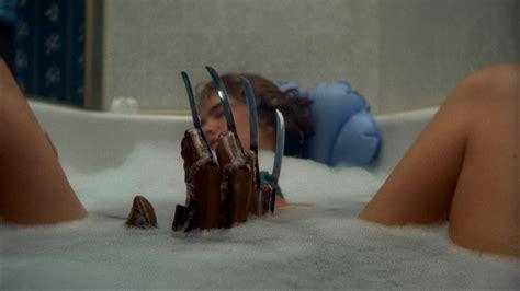 a nightmare on elm street bathtub scene frederick charles quot freddy quot krueger elm street girl foam