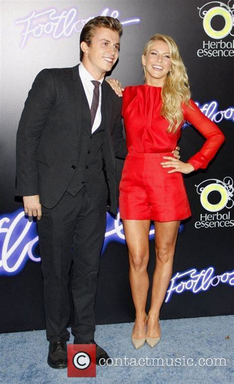 kenny wormald and julianne hough kenny wormald los angeles premiere of footloose held at