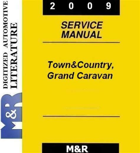 how to download repair manuals 2009 dodge caravan electronic toll collection 2009 grand caravan by dodge service manual download manuals