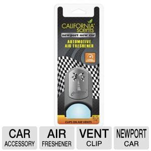 california scents vcp 644tr vent clip palm air freshener