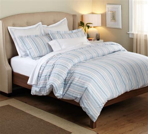 Blue And Grey Duvet Covers Pinzon 100 Percent Cotton Printed Duvet Set