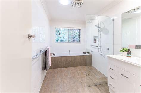 common wet room bathroom designs  australia