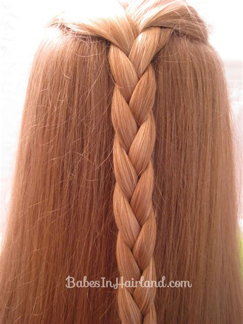 easy triple braided hairstyle babes in hairland easy triple braided hairstyle babes in hairland