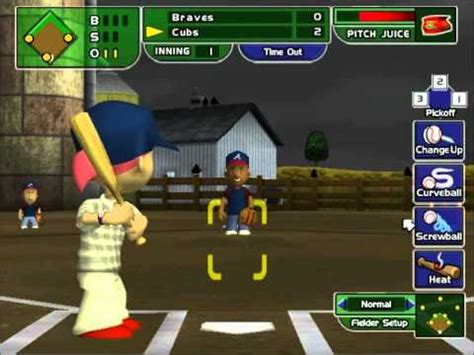 play backyard baseball online free lets play backyard baseball 2005 game21 youtube