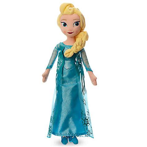 Disney Store Elsa Plush Doll Frozen Medium 20 Boneka Elsa elsa plush doll medium 20 disney store