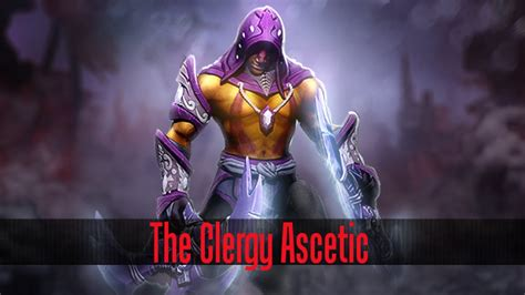 Ranti Set dota 2 store anti mage the clergy ascetic set