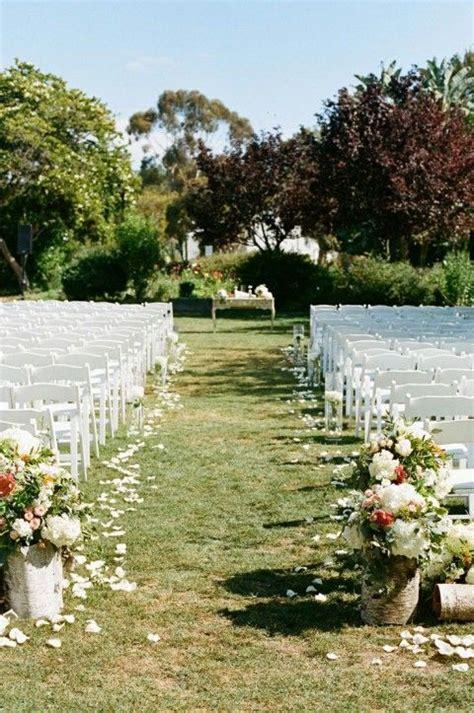 wedding aisle decorations outdoors 25 best outdoor wedding aisles ideas on