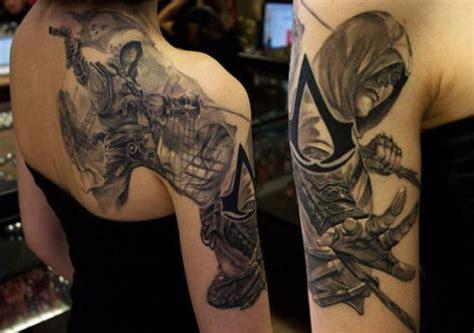 assassins creed tattoo assassin s creed tattoo tumblr