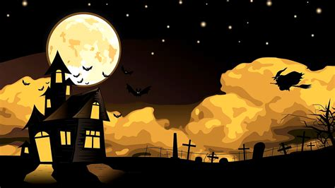 download cemetery witch moon wallpaper free wallpapers