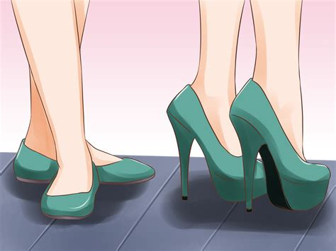 high heels that are easy to walk in 3 ways to walk in high heels wikihow