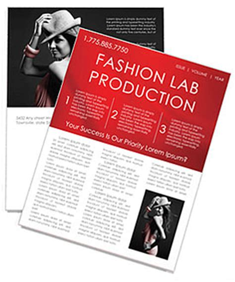fashion newsletter templates fashion newsletter template design id 0000000908