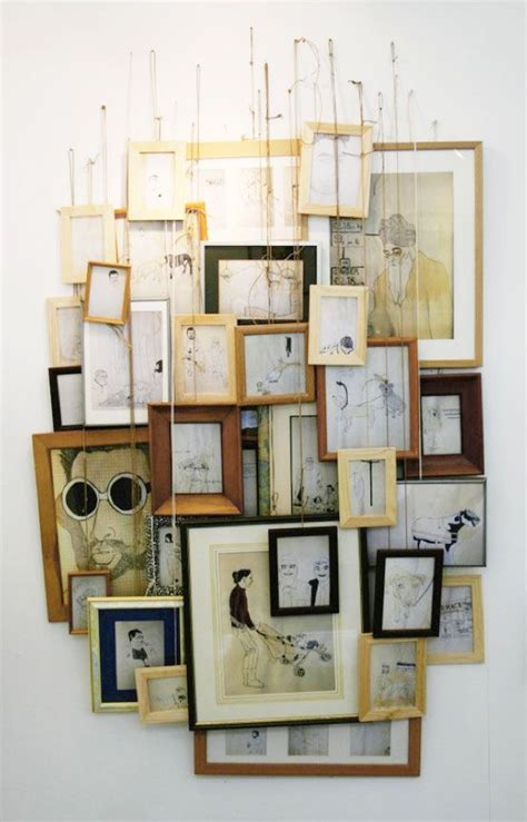 how to hang photo frames on wall without nails the world s catalog of ideas