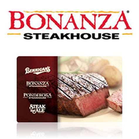 Bonanza Gift Card - buy bonanza steakhouse gift cards at giftcertificates com