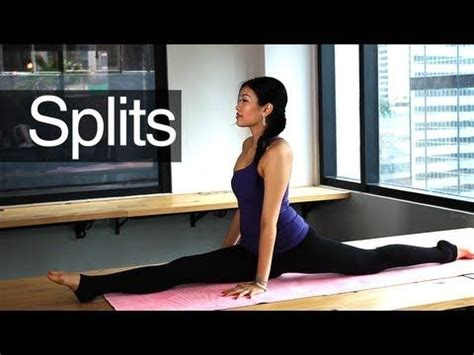 yoga tutorial for beginners youtube 28 best images about stretches for high kicks on pinterest