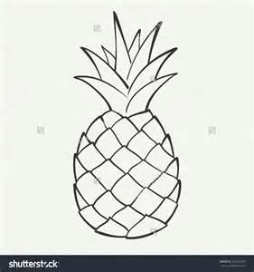 Pineapple Template 15 pineapple vector black images pineapple die cut vinyl