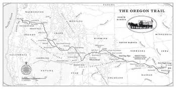 interactive oregon trail map the oregon trail by rinker buck