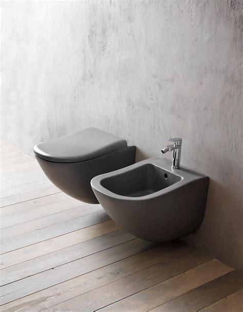 italian bidet fluid wall hung wc bidet toilets from ceramica cielo
