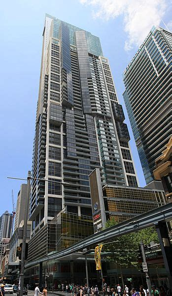 world tower construction cbd centre sydney greenland centre 115 bathurst st 68st 237m residential