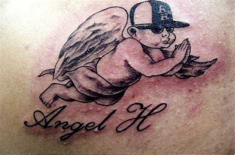 angel with baby tattoo designs shaolin baby designs