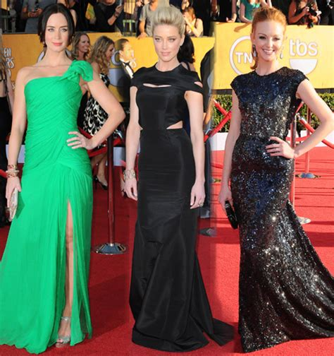Screen Actors Guild Awards Best Dressed Carpet Fashion Awards by Screen Actors Guild Awards Best Dressed Fashion