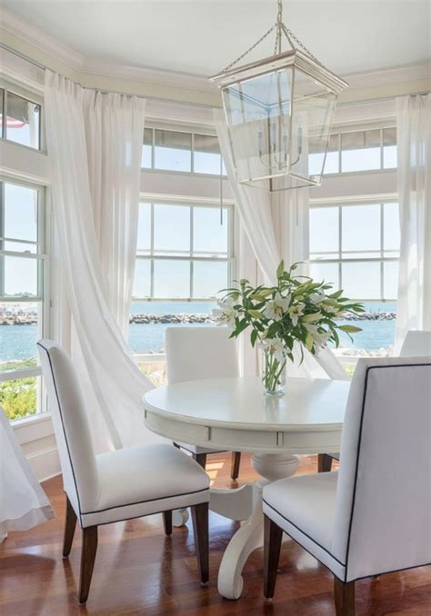 curtains for bay windows in dining room bay window curtain ideas give your bay window a