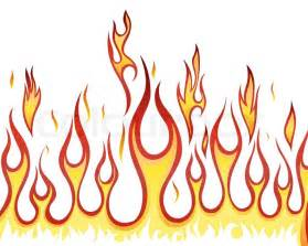 inferno fire vector background for design use stock vector