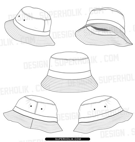hat templates fashion design templates vector illustrations and clip