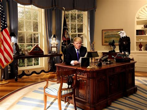 donald trump oval office decor trump hillary would put oval office up for sale true