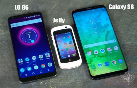 Jelly Phone meet jelly probably the smallest 4g android smartphone