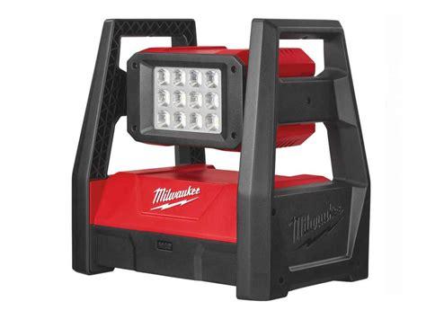 milwaukee lights milwaukee m18hal 0 110v led high performance area light
