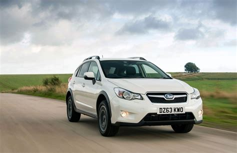 subaru white car subaru xv by car magazine
