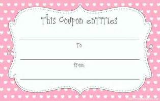 Birthday Gift Coupon Template   Template Update234.com