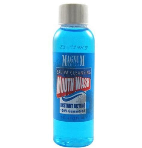 Detox Pills For Saliva Test by Magnum Saliva Detox Cleaning Mouthwash