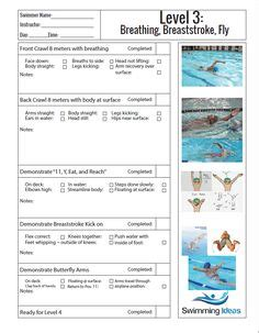 swimming lesson plan template swimming lesson plan template templates collections