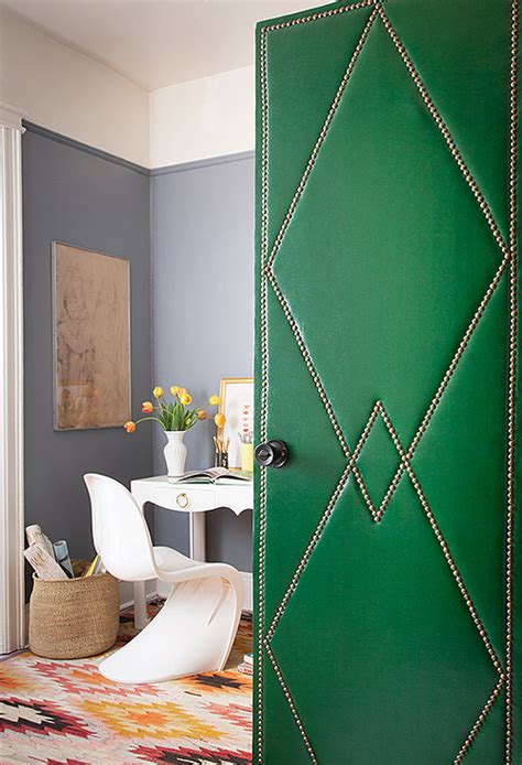 Door Upholstery by Hallway Paneled Interior Doors Vs Flat Flush