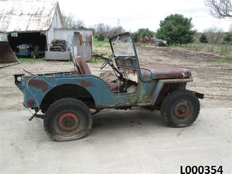 jeep willys parts 1946 jeep willys cj2a for parts
