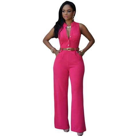 8 Rompers For Summer by Cfanny 2016 Rompers Womens Jumpsuit Plus Size V Neck