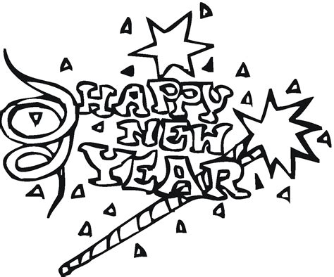 new year hat coloring pages happy new year hat coloring pages coloring home