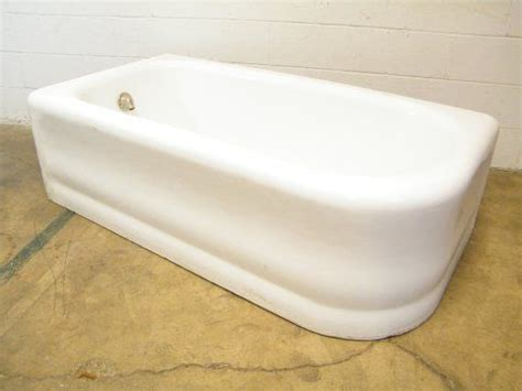 salvage bathtubs columbus architectural salvage left hand drain apron bathtub vintage bathroom tubs