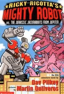 ricky ricotta ricky ricotta s mighty robot vs the jurassic jackrabbits from jupiter ricky ricotta 5 by