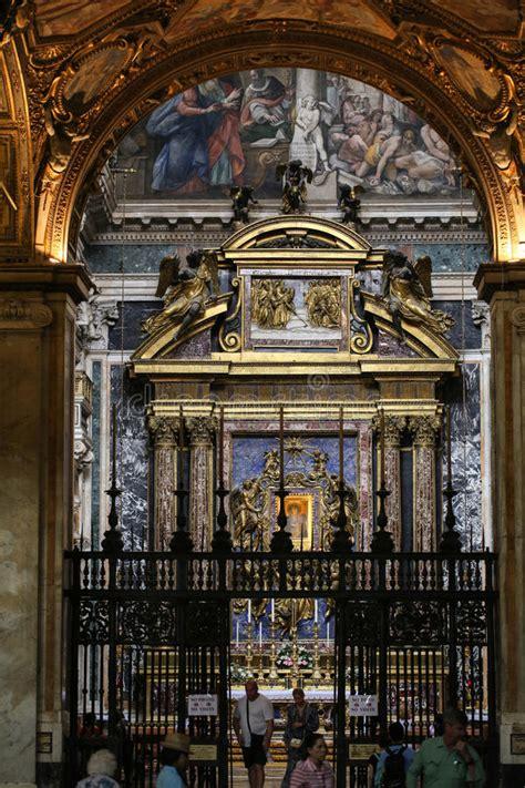 int 233 rieur de la basilique santa maggiore la chapelle