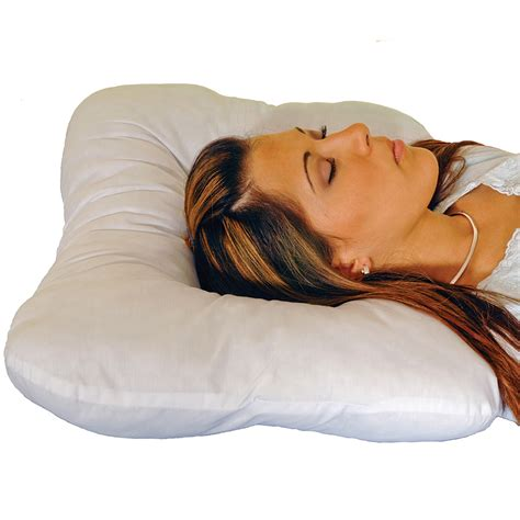 Cervical Neck Pillow For Side Sleepers by New The Eclipse Easy Sleep Pillow Supports Neck For