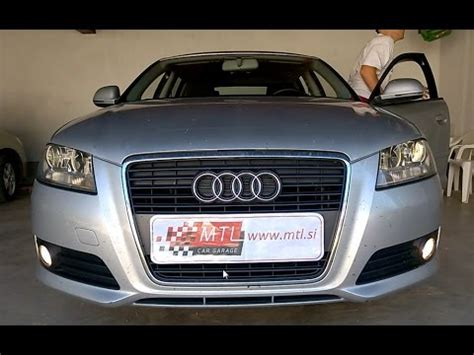 Audi A3 8p Coming Home audi a3 8p coming home via fog lights activation