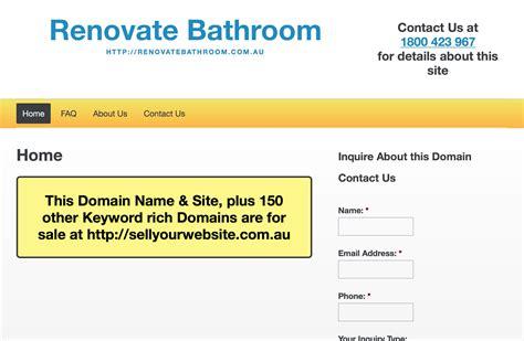 renovate bathroom renovate bathroom www renovatebathroom au for sale