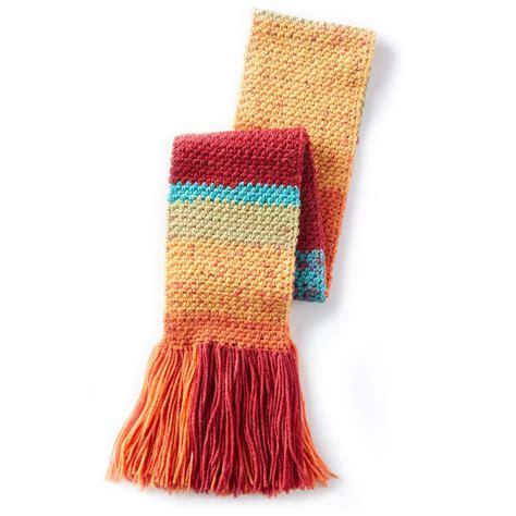 caron yarn website pattern is cn0986 caron 174 cakes simple texture crochet scarf