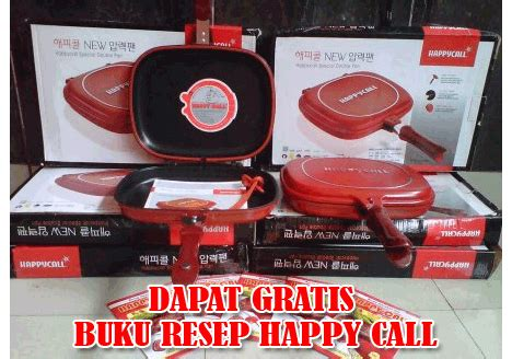 Dijamin Happy Call Jumbo Diameter 32cm happy call jumbo diameter 32cm alat masak 464 barang