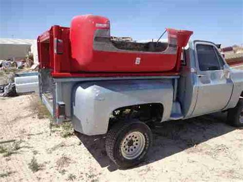 rust free pickup beds purchase used 4x4 short bed step side 1983 chevy gmc rust free pick up truck rat rod