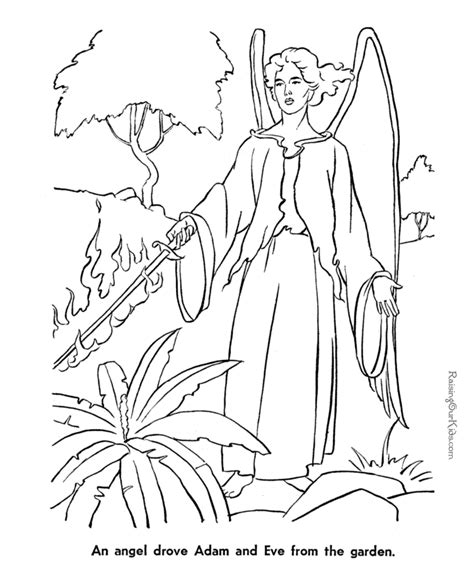 garden of eden coloring pages free printable adam and eve coloring pages for kids az coloring pages