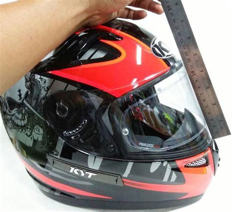 Helm Kyt Flat Visor flat visor helm kyt informasi otomotif mobil motor
